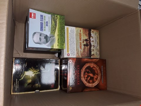 Lot 12006 APPROXIMATELY 20 DVDS BOX SETS AND DVDS TO INCLUDE,  MEDIUM,  HAWAII FIVE O , STAR GATE, LION KING & MORE