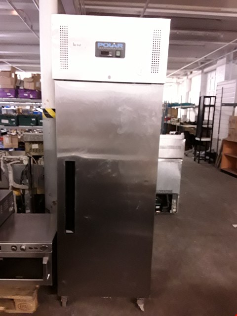 Lot 9070 POLAR REFRIGERATION G593 STAINLESS STEEL UPRIGHT COMMERCIAL FRIDGE