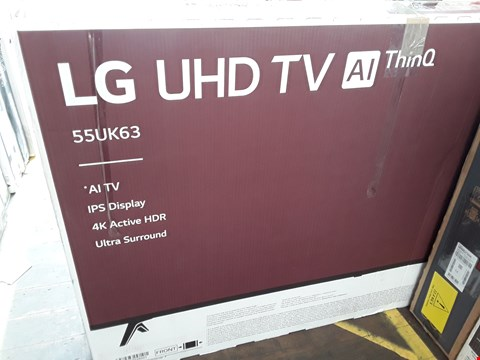 "Lot 1052 LG 55"" UHD THINQ 4K ACTIVE HDR TELEVISION MODEL 55UK6300PLB"