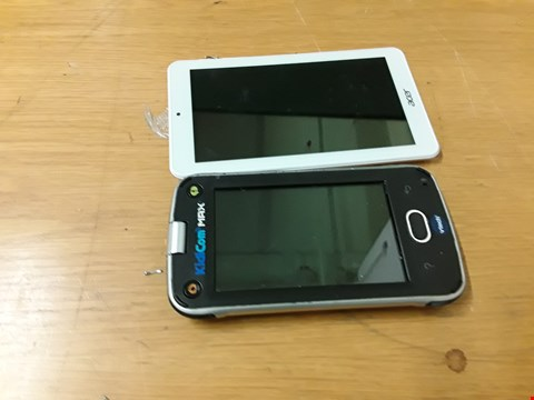 "Lot 201 ICONIA ONE 7"" TABLET AND VTECH KIDICOM MAX  RRP £211"