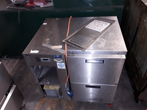 Lot 7 COMMERCIAL 2 DRAW INDUSTRIAL FOSTERS FRIDGE - FKE - 80 - S2