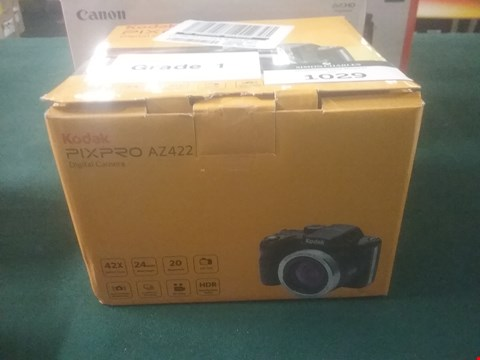 Lot 1029 GRADE 1 KODAK PIXPRO AZ422 DIGITAL CAMERA RRP £219.99