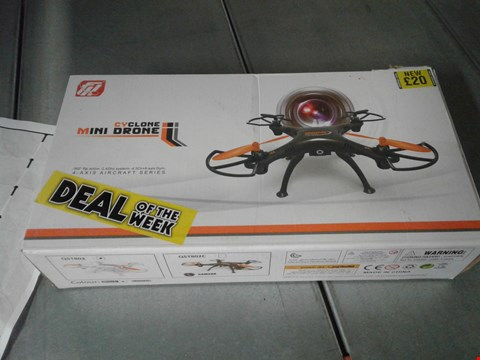 Lot 2116 CYCLONE MINI DRONE 4-AXIS AIRCRAFT SERIES