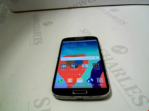 Lot 124 SAMSUNG GALAXY S4 16GB ANDROID SMARTPHONE