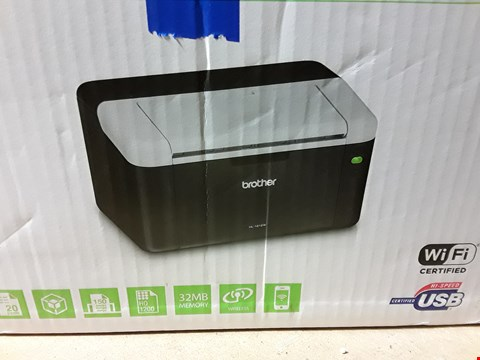 Lot 8112 BROTHER COMPACT MONO LASER PRINTER WITH WI-FI