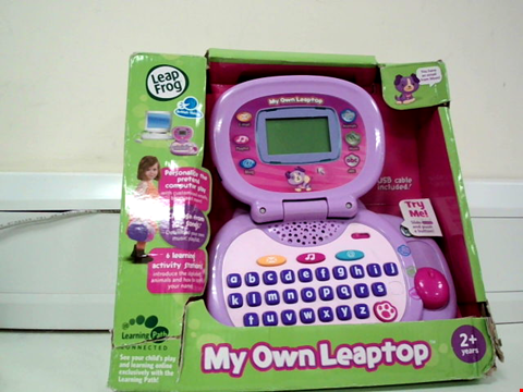 Lot 8024 LEAP FROG MY OWN LEAPTOP