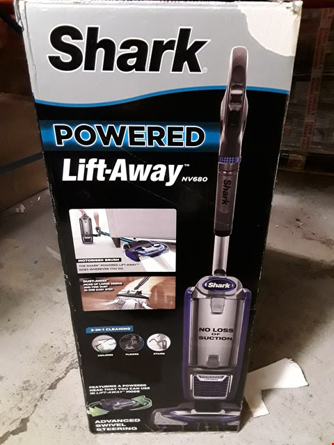 Lot 3249 SHARK POWERED LIFT AWAY MOTORISED BRUSH VACCUM CLEANER