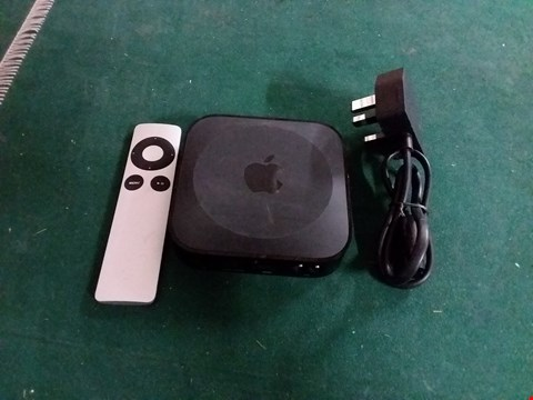 Lot 399 APPLE TV RECEPTION BOX WITH REMOTE (LOT 42)