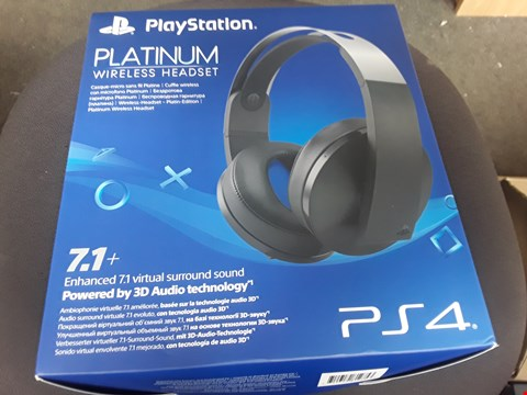 Lot 6 BOXED SONY PS4 WIRELESS HEADSET