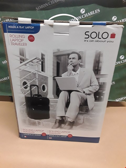 Lot 14782 BOXED ROLLING LAPTOP TRAVELLER