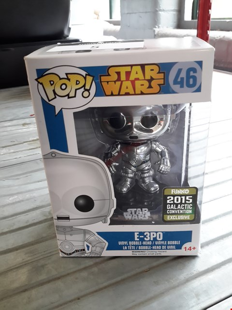 Lot 491 POP STAR WARS E-3PO FIGURINE