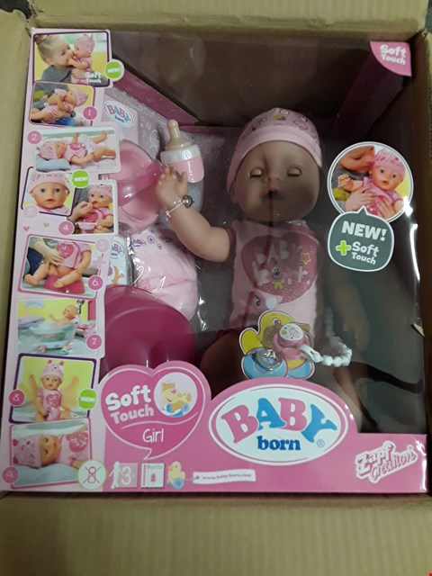 Lot 47 BABY BORN INTERACTIVE DOLL RRP £60