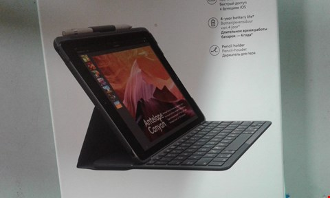 Lot 201 LOGITECH SLIM FOLIO IPAD (5TH AND 6TH GENERATION)