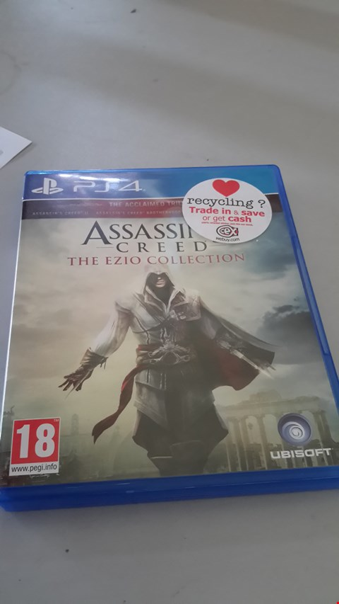 Lot 9061 ASSASSINS CREED THE EZIO COLLECTION FOR PS4