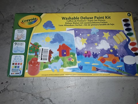 Lot 2200 CRAYOLA MY PAINTING CASE RRP £10.99