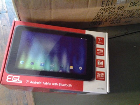 "Lot 4056 EGL 7"" ANDROID TABLET WITH BLUETOOTH"
