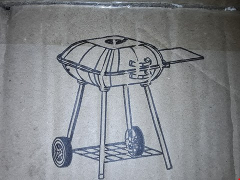 """Lot 10756 BOXED GRADE 1 18"""" SQUARE GRILL CHARCOAL BARBECUE RRP £74.99"""