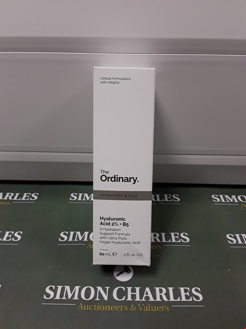 Lot 135 BOXED THE ORDINARY HYALURONIC ACID 2%+B5