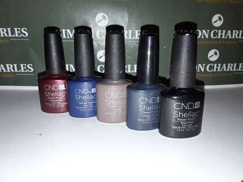 Lot 52 LOT OF 5 ASSORTED CND SHELLAC PRODUCTS