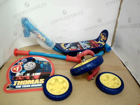 Lot 10431 THOMAS AND FRIENDS MY FIRST TRI SCOOTER RRP £33.00