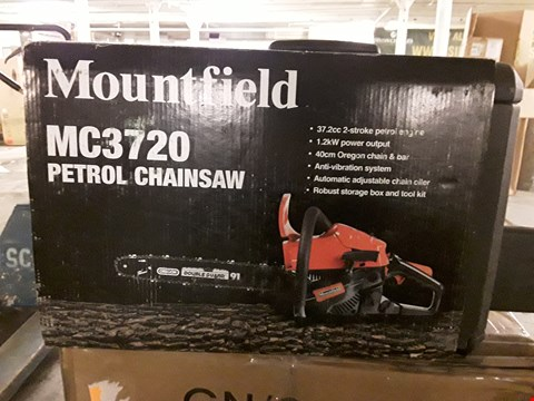 Lot 341 MOUNTFIELD MC3720 PETROL CHAINSAW RRP £120
