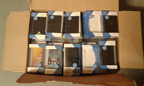 Lot 11514 BOX OF APPROXIMATELY 40 ASSORTED MOBILE PHONE CASES