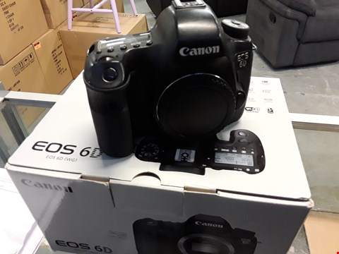 Lot 92 CANON EOS6D DSLR CAMERA BODY (BODY ONLY)
