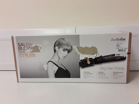 Lot 6238 BOXED BABYLISS HAIR STYLER