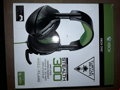 Lot 8075 TURTLE BEACH STEALTH 300 AMPLIFIED GAMING HEADSET - XBOX ONE