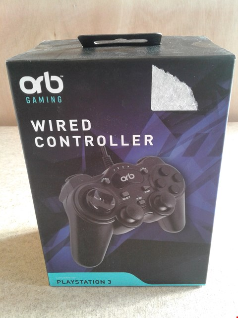 Lot 630 ORB GAMING WIRED CONTROLLER COMPATIBLE WITH PLAYSTATION  3
