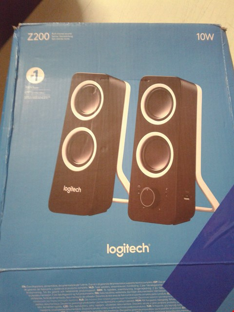 Lot 4244 LOGITECH Z200 PC SPEAKERS