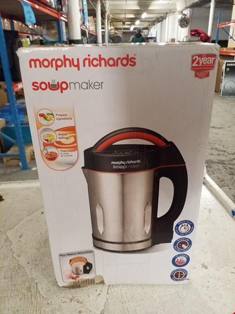 Lot 8396 MORPHY RICHARDS SOUP MAKER