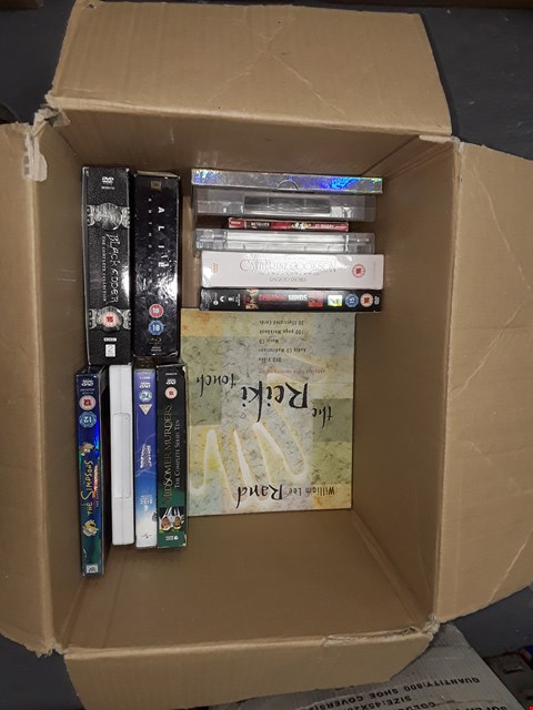 Lot 12059 APPROXIMATELY 30 DVDS BOX SETS AND DVDS TO INCLUDE  , ALIEN , SIMPSONS  ,GAME OF THRONES  ,STAR TREK , THE FLYING DOCTOR & MORE