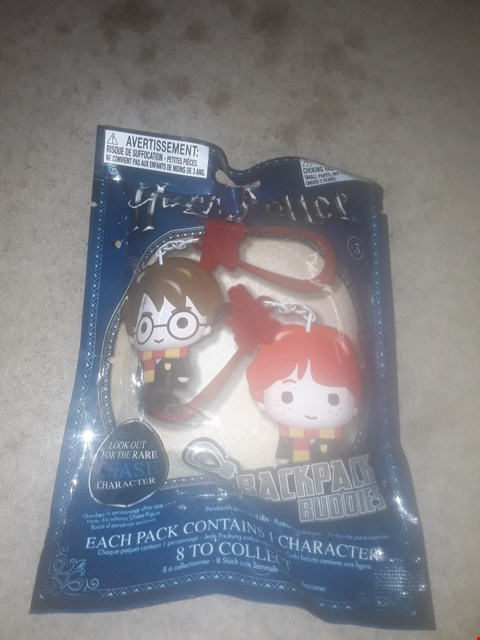 Lot 415 BOX OF APPROXIMATELY 12  BRAND NEW PACKAGED HARRY POTTER BACKPACK BUDDIES MINI-FIGURES