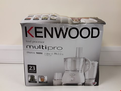 Lot 6007 BOXED KENWOOD MULTIPRO FOOD PROCESSOR MODEL FP691A