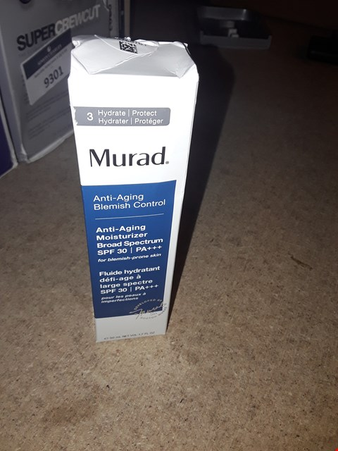 Lot 9303 MURAD ANTI-AGING MOISTURISER SPF 30 50ML RRP £65.00