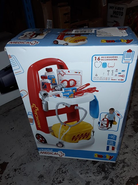 Lot 186 BOXED GRADE 1 MEDICAL RESCUE TROLLEY  RRP £52.99