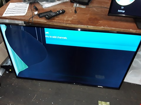 "Lot 8092 PANASONIC 55"" TX55FX550B TV"