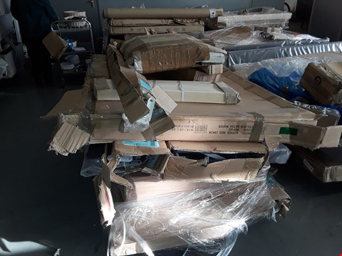 Lot 2010 PALLET OF ASSORTED FLAT PACK FURNITURE PARTS