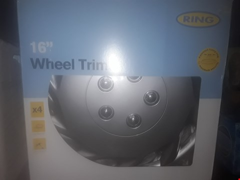 Lot 8286 RING 16 INCH WHEEL TRIMS ( 4 PACK )