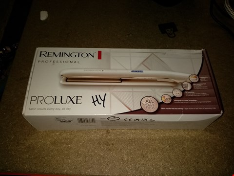 Lot 302 REMINGTON PROFESSIONAL PRO LUXE HAIR STRAIGHTENERS