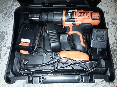 Lot 353 BLACK & DECKER 18V 2 GEAR HAMMER DRILL
