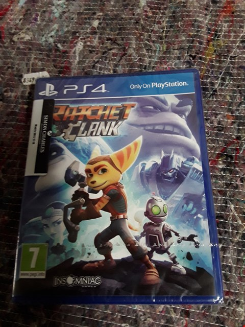 Lot 57 BRAND NEW RATCHET & CLANK FOR PLAYSTATION 4