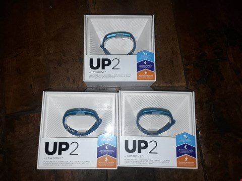 "Lot 6297 BOX OF APPROXIMATELY 3 ASSORTED ""UP 2"" BY JAWBONE ACTIVITY TRACKERS"