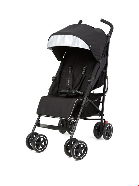 Lot 28 BRAND NEW MOTHERCARE ROLL STROLLER IN GREY (1 BOX) RRP £119.99