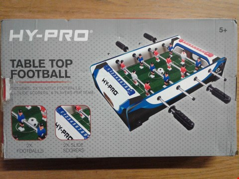 Lot 4076 20INCH TABLE TOP FOOTBALL TABLE RRP £25.00