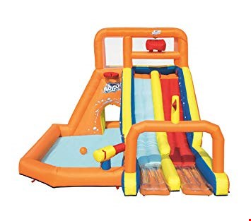 Lot 67 BOXED BESTWAY TSUNAMI WAVES SUMMIT WATER PLAY CENTRE RRP £672.99