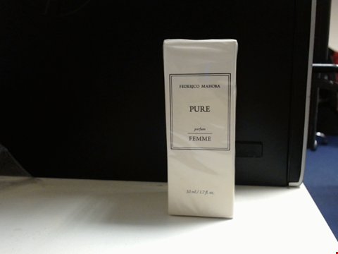 Lot 6454 FM PERFUME PURE BY FEDERICO MAHORA 50ML SEALED