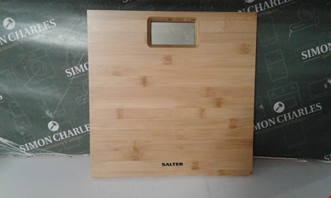 Lot 17094 SALTER BAMBOO PERSONAL SCALE