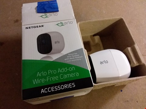 Lot 980 NETGEAR ARLO SMART HOME ADD ON HD SECURITY CAMERA